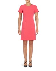 Eliza J Textured Sheath Dress Pink
