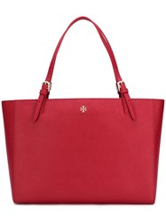 Tory Burch Large Double Handles Tote Red