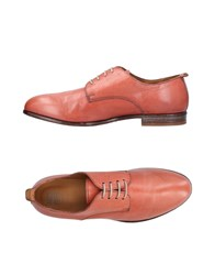 Moma Lace Up Shoes Pastel Pink