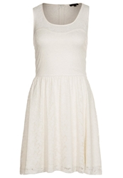 Morgan Rola Cocktail Dress Party Dress Ecru White