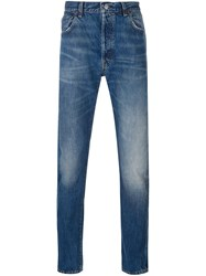 Levi's Vintage Clothing '501 1966 New Rinse' Jeans Blue