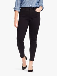 J.Crew 10 Highest Rise Toothpick Jeans True Black