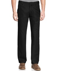 Cutter And Buck Big And Tall Beckett Flat Front Pants Black