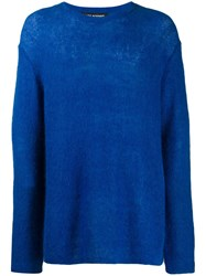 Neil Barrett Long Line Jumper Blue