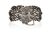 Sevan Bicakci Women's Beaded Ball Chain Bracelet Brown