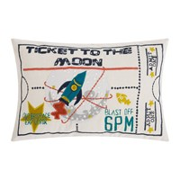 Christy Ticket To The Moon Cushion