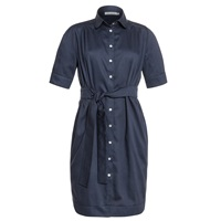 Outsider Fitted Shirt Dress Blue