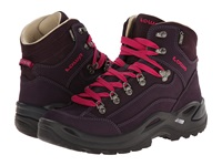 Lowa Renegade Pro Gtx Mid Ws Prune Women's Shoes Burgundy