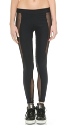 Blue Life Fit Silhouette Riding Leggings Black