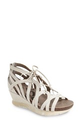 Otbt Women's 'Nomadic' Sandal Sport White Leather