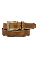 Remo Tulliani Men's Bo Leather Belt Tan