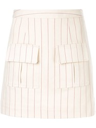 Maggie Marilyn We Can Climb This Mountain Skirt Neutrals