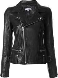 Iro Biker Leather Jacket Black