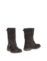 Coolway Ankle Boots Dark Brown