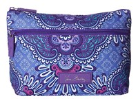 Vera Bradley Lighten Up Travel Cosmetic Lilac Tapestry Cosmetic Case Purple