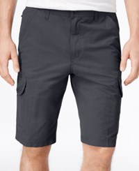 Hawke And Co. Outfitter Men's Ripstop Stretch Cargo Shorts Gun Metal