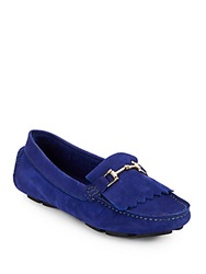 Saks Fifth Avenue Kiltey Suede Loafers