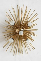 Anthropologie Astra Sconce Gold