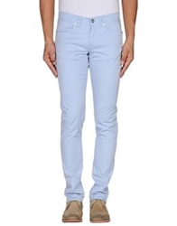 Siviglia White Casual Pants Light Purple