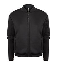 Under Armour Underarmour Luster Bomber Jacket Female Black