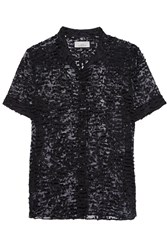 Studio Nicholson Ebina Fil Coupe Blouse Black