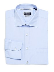 Breuer Regular Fit Cotton Dress Shirt Light Blue