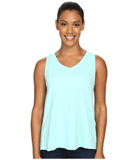 Woolrich Elemental Tank Ii Robins Egg Women's Sleeveless Blue