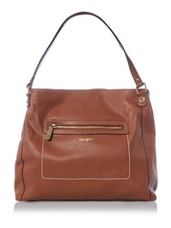 Ollie And Nic Richie Tan Soft Tote Bag