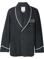 Visvim Two Button Blazer Black