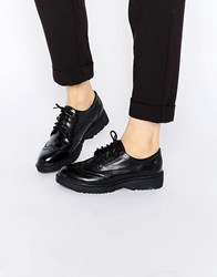 Blink Bronx Chunky Lace Up Shoes Black