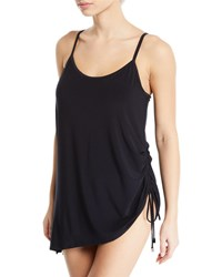 Magicsuit Brynn Ruched Tank Swimdress Black