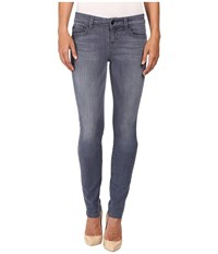 Level 99 Lily Skinny Straight In Lavender Lavender Women's Jeans Purple