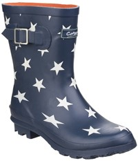 Cotswold Badminton Waterproof Wellington Boots Navy