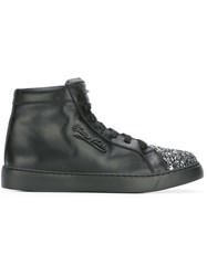 Philipp Plein Tusket Hi Top Sneakers Black