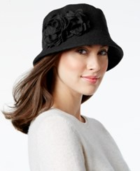 Nine West Knit Microbrim Hat Black