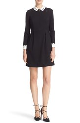 Ted Baker Women's London Embroidered Collar Fit And Flare Dress
