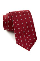 English Laundry Square Silk Tie Red