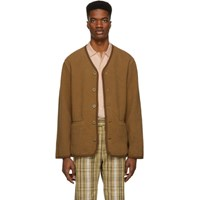 Our Legacy Brown Tiroler Cardigan