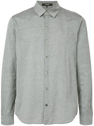 Attachment Classic Long Sleeve Shirt Grey