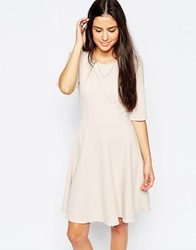 Traffic People Preppy Loves Audrey Dress Beige