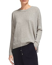 Whistles Cashmere Ribbed Trim Sweater Multi