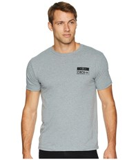 Cinch Short Sleeve Tee Heathered Gray T Shirt