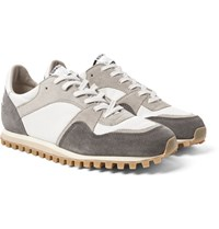 Spalwart Marathon Trail Suede And Mesh Sneakers Gray