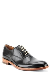 Gordon Rush Oliver Plain Toe Oxford Black Leather