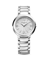 Baume And Mercier Promesse Watch 30Mm Silver