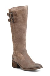 Born B Rn Basil Boot Taupe Distressed Leather