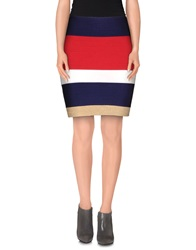 Guess By Marciano Mini Skirts Dark Blue