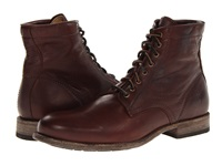Frye Tyler Lace Up Dark Brown Soft Vintage Leather Men's Lace Up Boots
