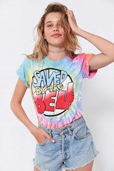 Urban Outfitters Saved By The Bell Tie Dye Tee Novelty