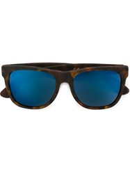 Retrosuperfuture 'Classic Team Havana' Wayfarer Frame Sunglasses Brown